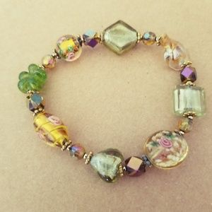 Secret Garden Stretch Bracelet